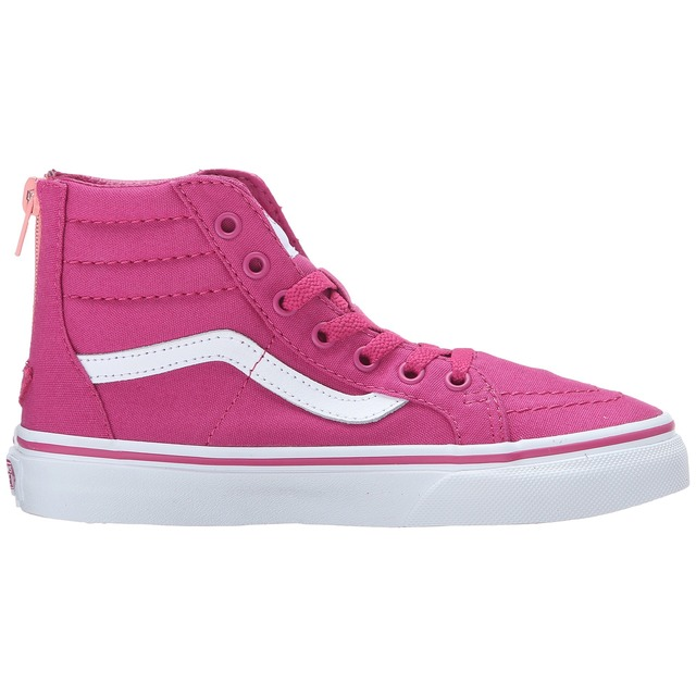 Vans G SK8-Hi Zip (Canvas) Lilac Rose/ Burnt Coral
