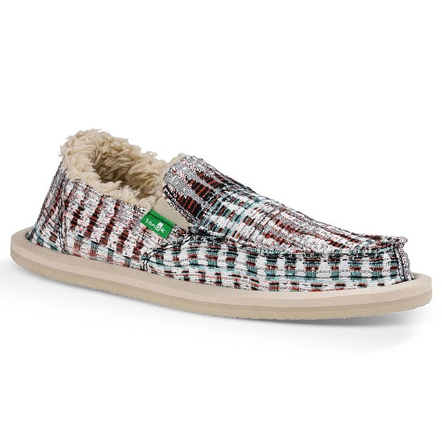 Sanuk Lil Donna Ice Chill White/ Multi