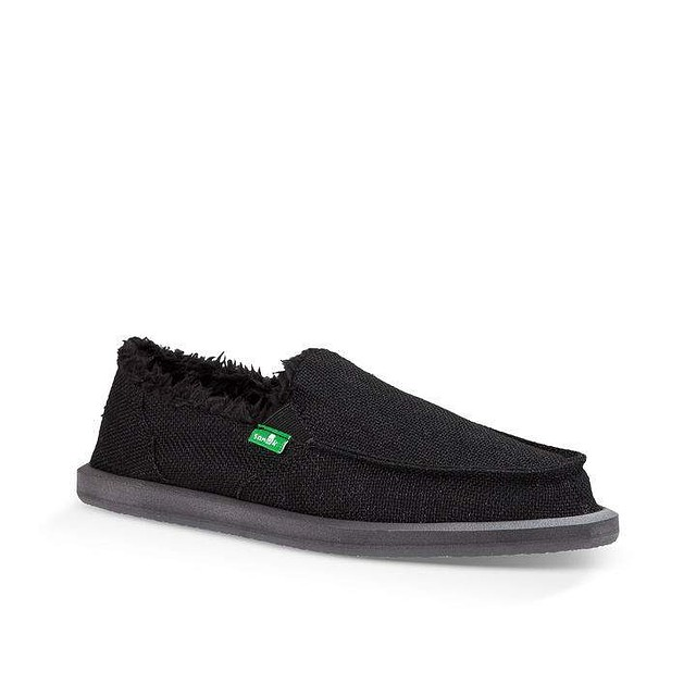 Sanuk W Donna Hemp Chill Black