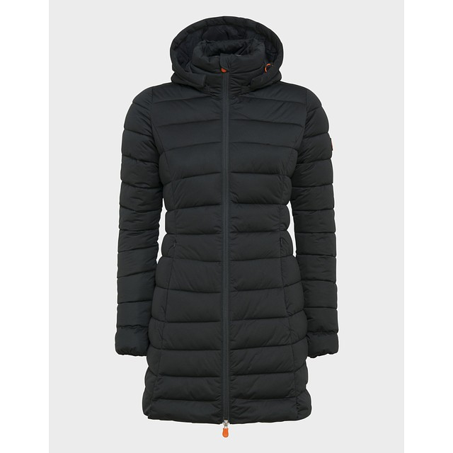 Save The Duck Sold Knitted Hooded Black