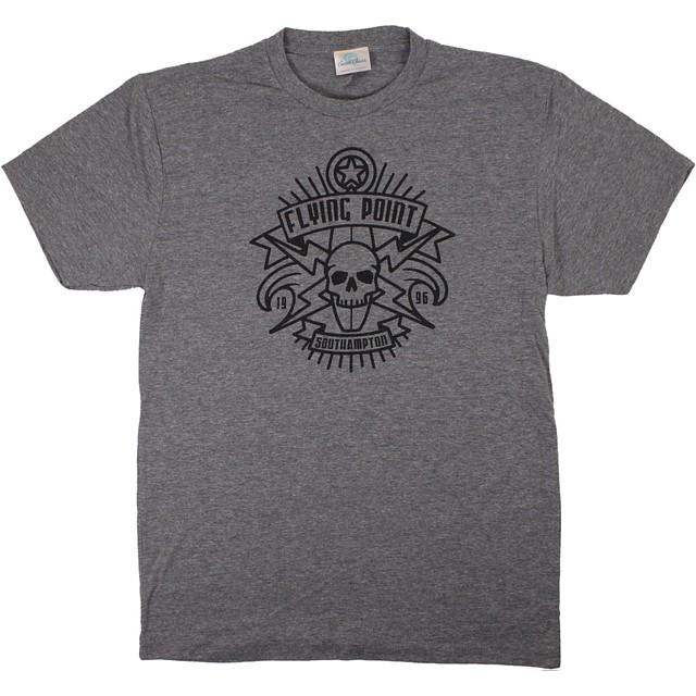 Streamline Skull Shield- Southampton Heather Grey