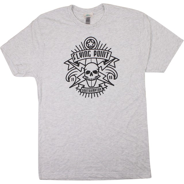 Streamline Skull Shield- Southampton Vintage White
