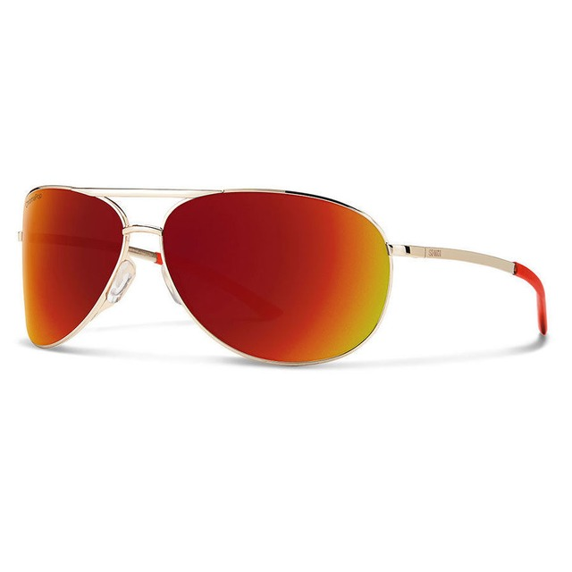 Smith Serpico 2.0 Gold/ ChromaPop Sun Red Mirror