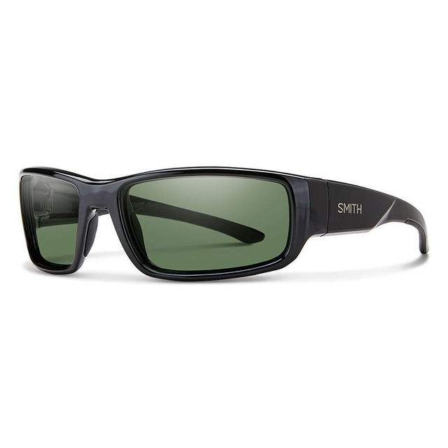 Smith Survey Black/ Polarized Grey Green
