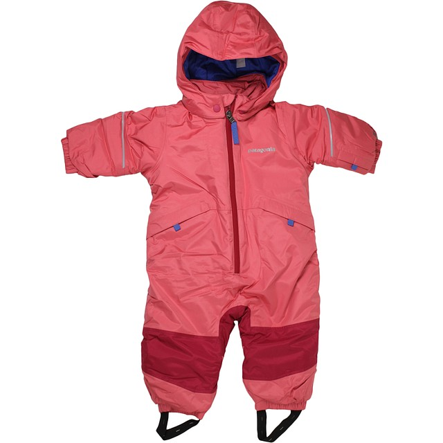 Patagonia Snow Pile One-Piece Indy Pink