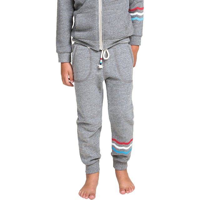 Sol Angeles T Flag Waves Jogger Heather