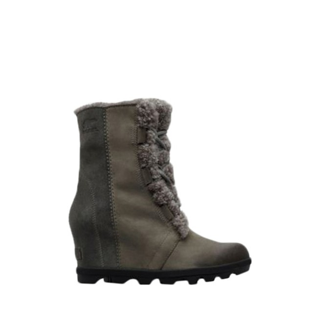Sorel Joan Of Arctic Wedge II Shearling Quarry