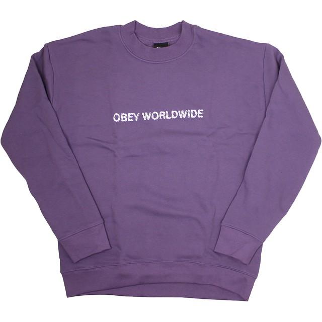 Obey Static Worldwide Grape