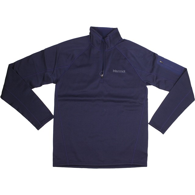 Marmont Stretch Fleece 1/2 Zip Arctic Navy