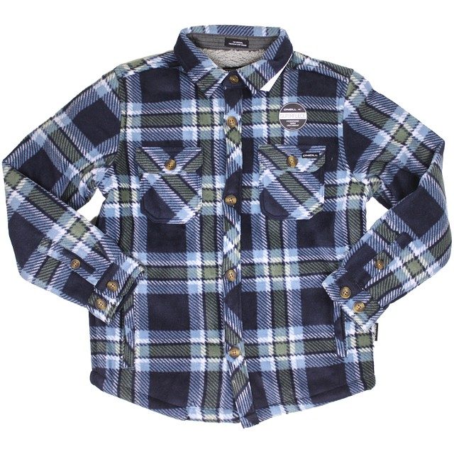 O'Neill T Glacier Heat Dome Navy Plaid