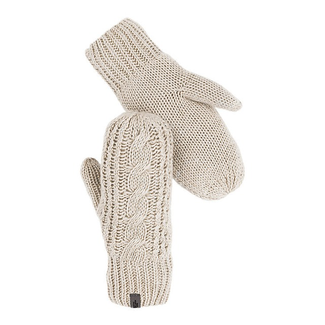 The North Face Cable Knit Vintage White