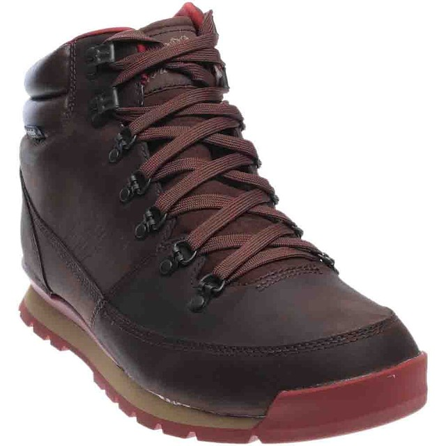 The North Face M Back to Berkley Redux Leather Karafe Brown/ Ketchup Red