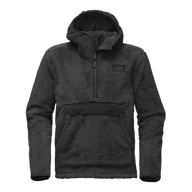 The North Face M Campshire Hoody Asphalt Grey/ TNF Black