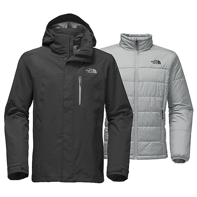 The North Face M Carto Triclimate Asphalt Grey / Asphalt Grey