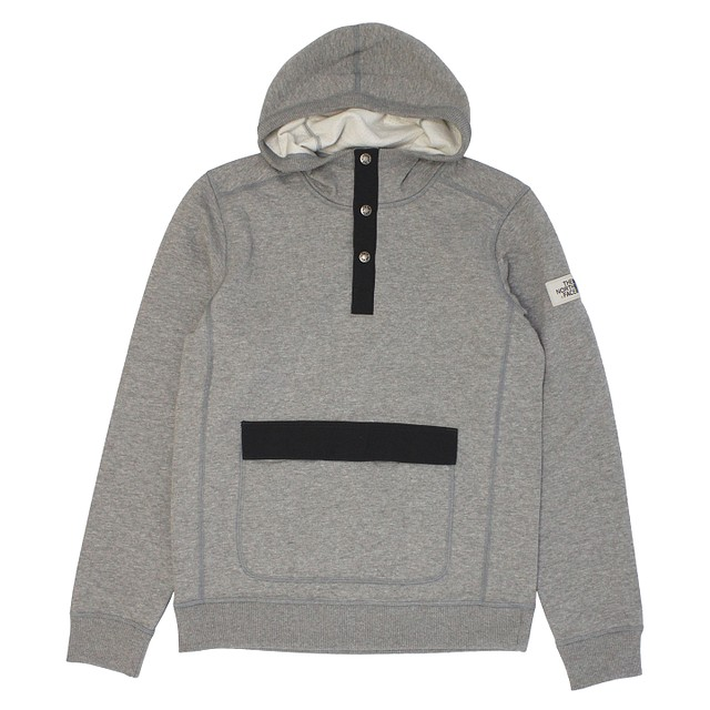 The North Face Re-Source Hoodie Mid Grey Heather