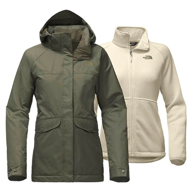 The North Face W Merriwood TriClimate New Taupe Green