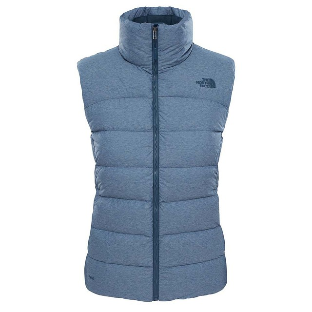 The North Face W Nuptse Ink Blue Heather
