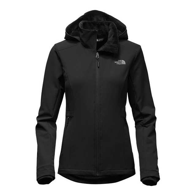 The North Face W Shelbe Raschel Hoodie TNF Black