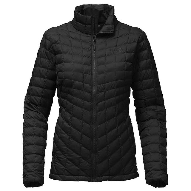 The North Face W Thermoball Full Zip TNF Black Matte