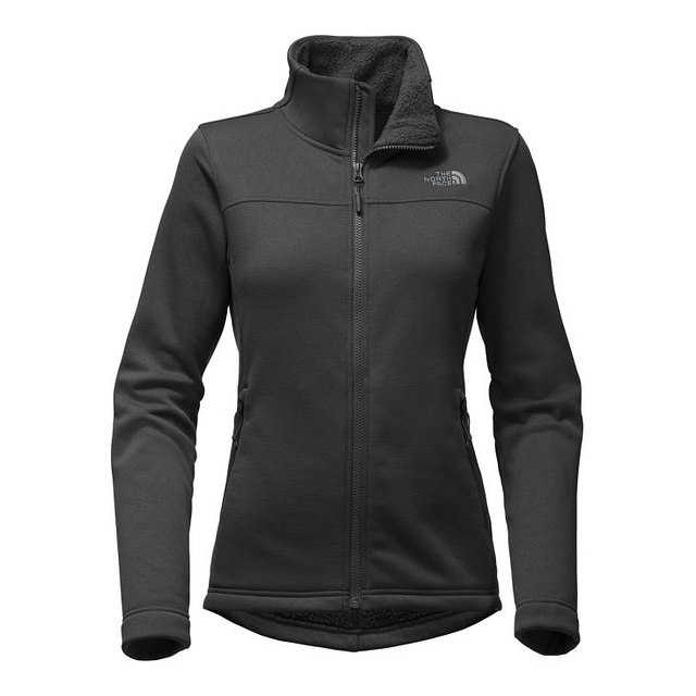 The North Face W Timber Full Zip TNF Black