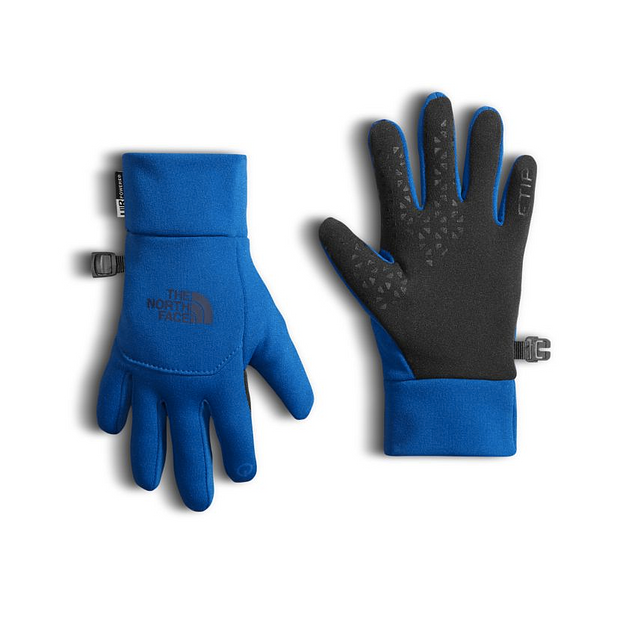 The North Face Youth ETip Bright Cobalt Blue
