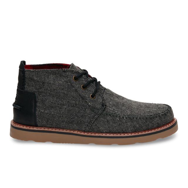 Toms Shoes Chukka Charcoal Fleck