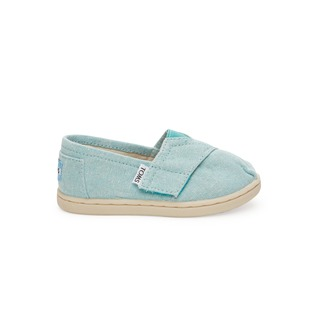 Classic Slip-On - Aqua Chambray