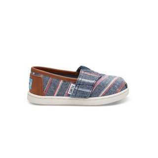 Classic Slip-On - Navy Multi Stripe