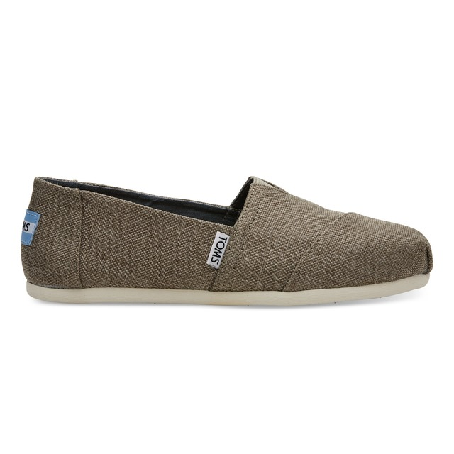 Toms Womens Classics Desert Taupe Poly