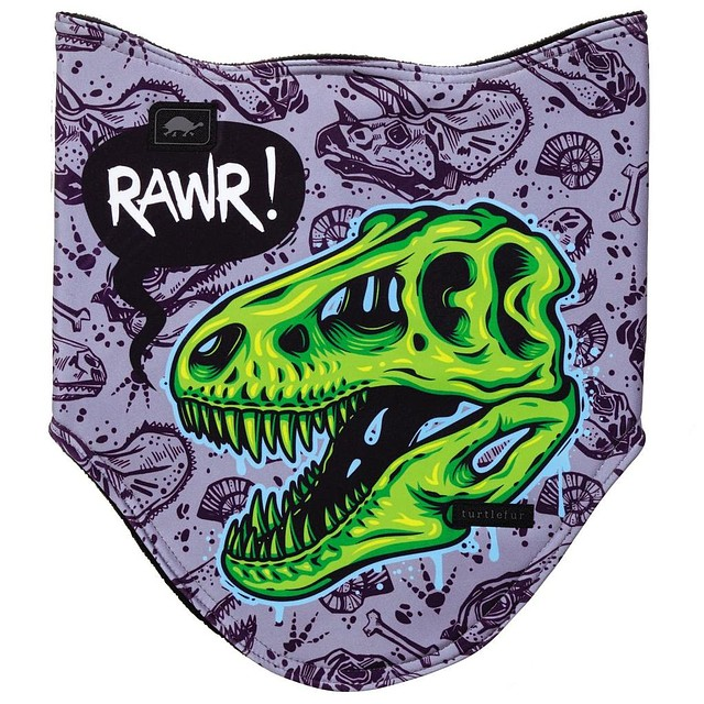 Turtle Fur K Game Face Bandana Rawrex