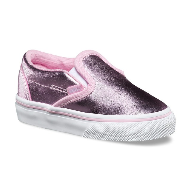 Vans Classic Slip-On (Metallic) Pink