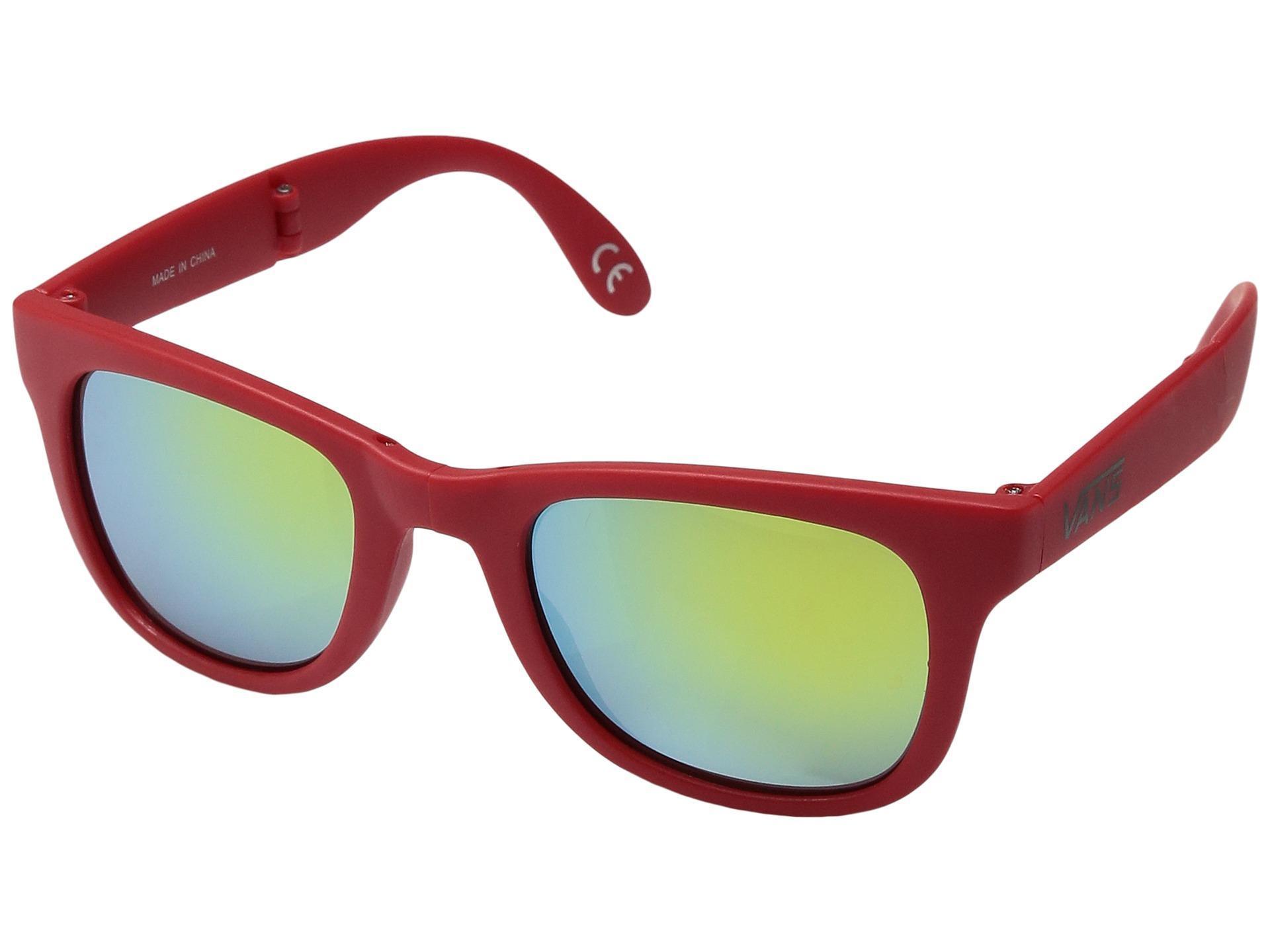 Vans Herren Sonnenbrille Foldable Spicoli Racing Red 9vaTX6Fw