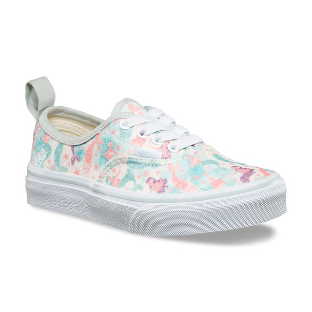 Vans G Authentic Elastic (Mermaid) Ice Flow/ Glitter