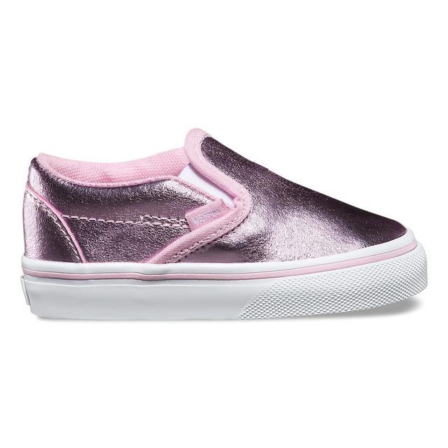 Vans Girls Classic Metallic Pink