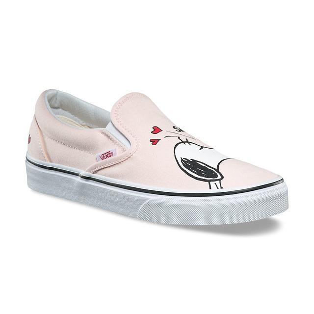 Vans Girls Classic Smack/Pearl