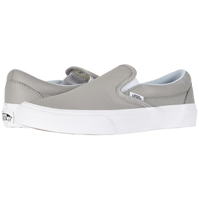 Vans Leather Classic Slip-On Oxford / Drizzle