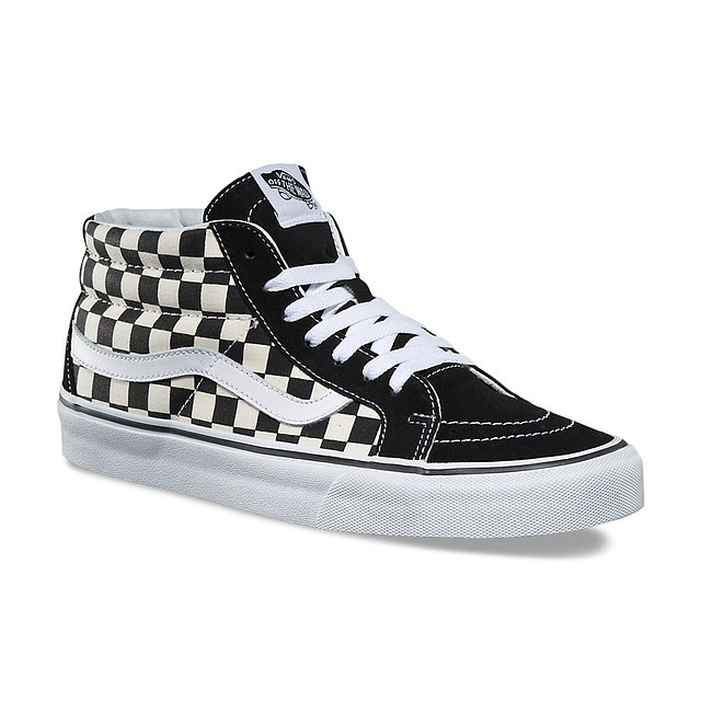 Vans Sk8-Mid Reissue Checkerboard/ True White