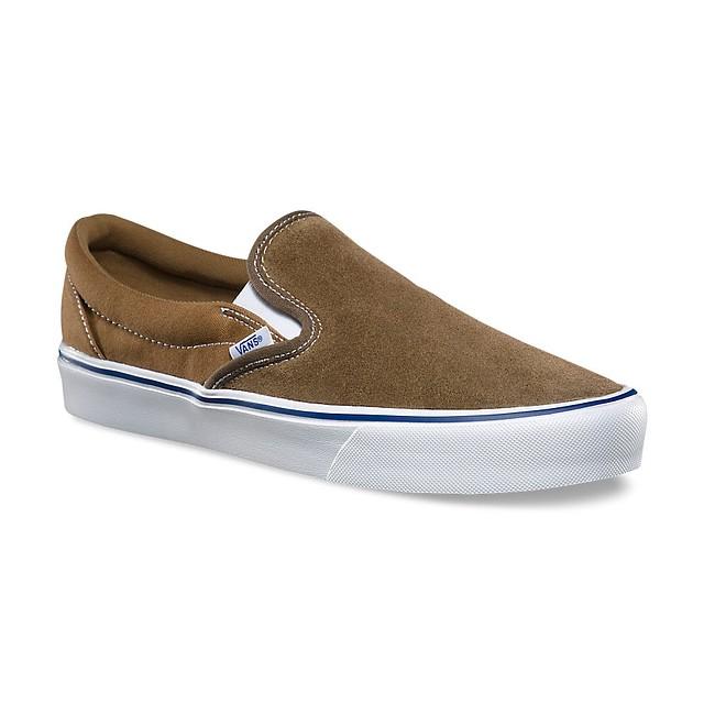 Vans Mens Slip-On Lite (Throwback) Teak/ Ermine