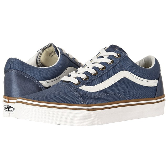 Vans W Old Skool (Sun Faded) Vintage Indigo