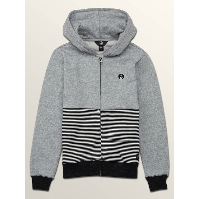 Volcom B Threezy Zip Grey