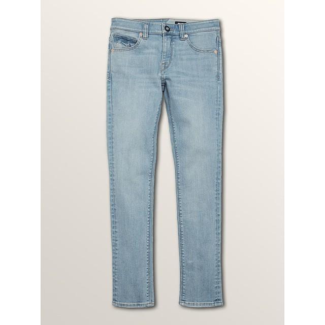 Volcom Solver Tapered Jeans Allover Stone Light