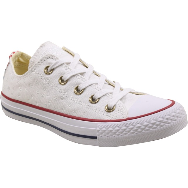 Converse Womens Chuck Taylor All Star Low White/ Casino/ White