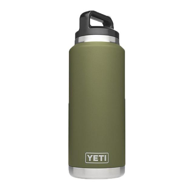 Yeti Rambler Bottle Olive Green