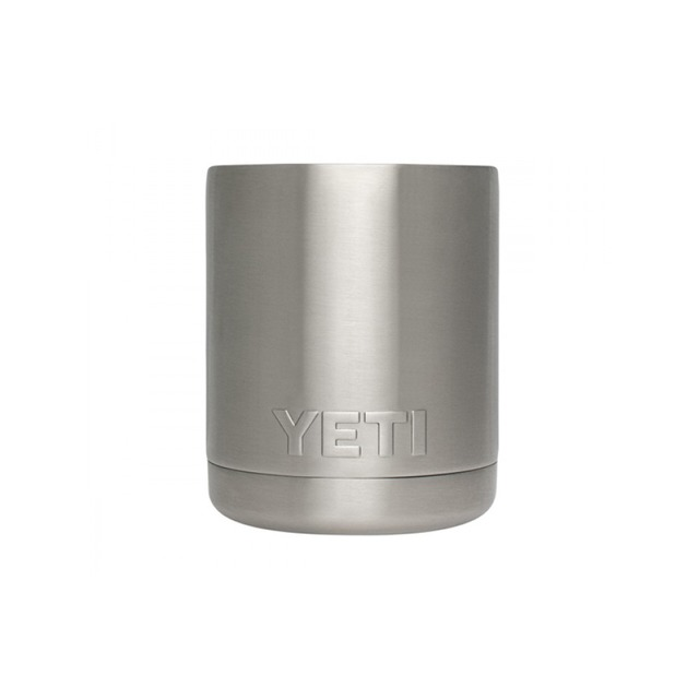 Yeti Rambler Lowball w/ Lid Stainless Steel