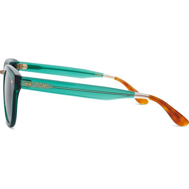 Yvette - Emerald Crystal/ Olive Gradient