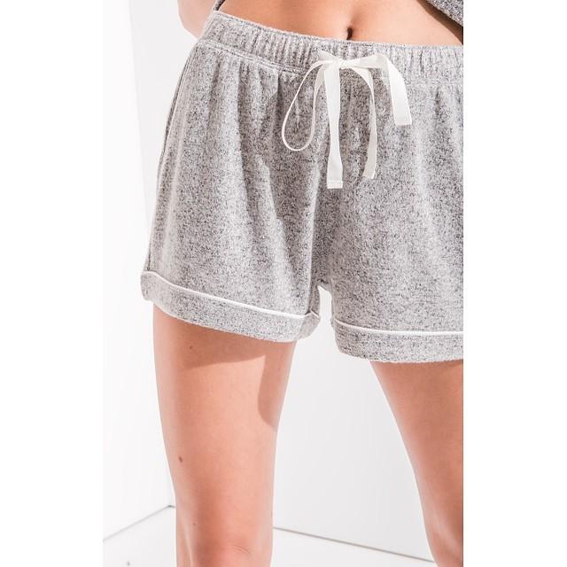 Z Supply The Menswear Pajama Heather Grey