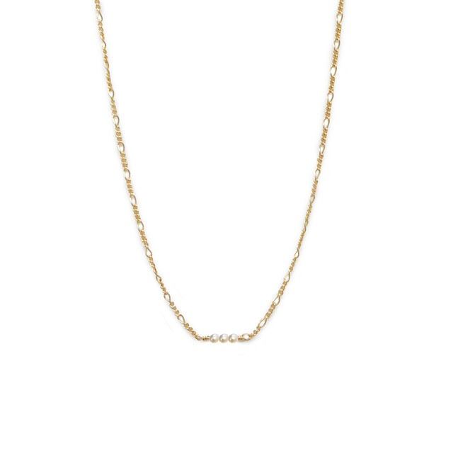 Able Serendipity Necklace Pearl / Gold