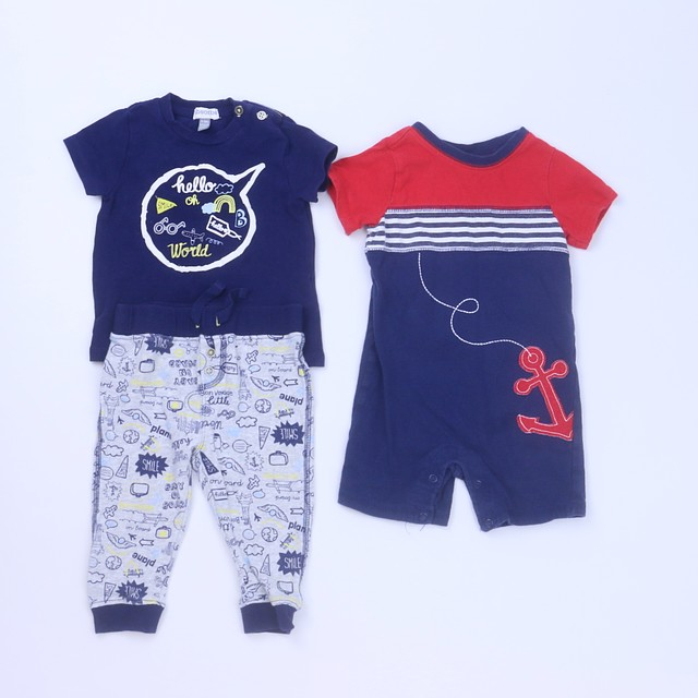 Absorba | First Impressions3-pieces Apparel Sets6-9 Months