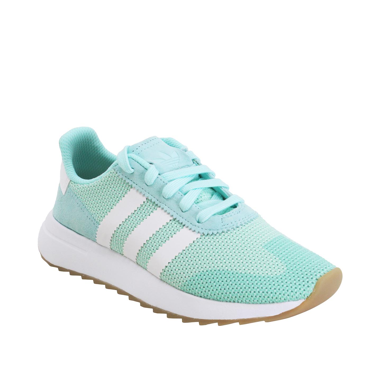 Adidas Flashback Runner Women's Running Shoes Aqua White Gum