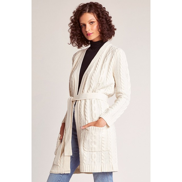Locals Only Cardigan - Ivory
